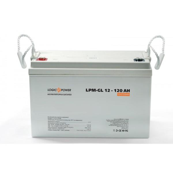 Аккумуляторная батарея Logic Power LPM-GL 12V 120AH