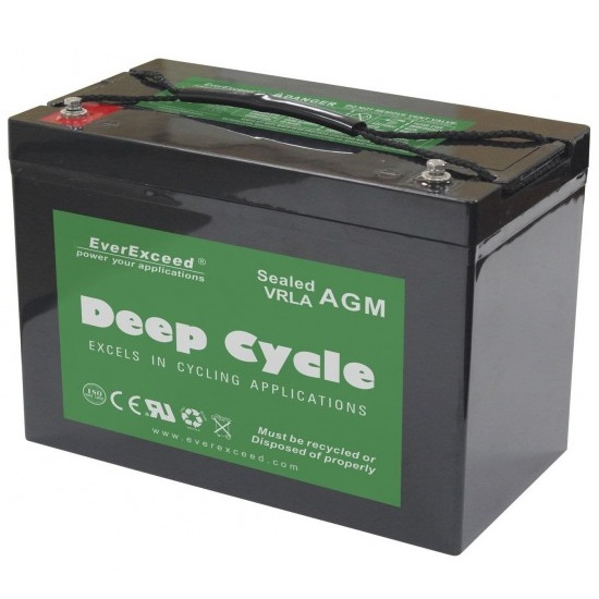 Аккумуляторная батарея EverExceed DP-12120