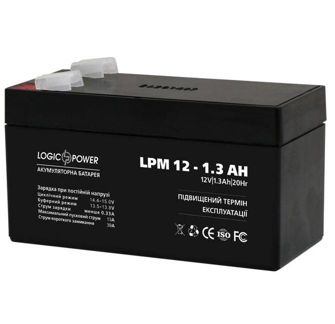 Аккумуляторная батарея Logic Power LPM 12-1.3 AH