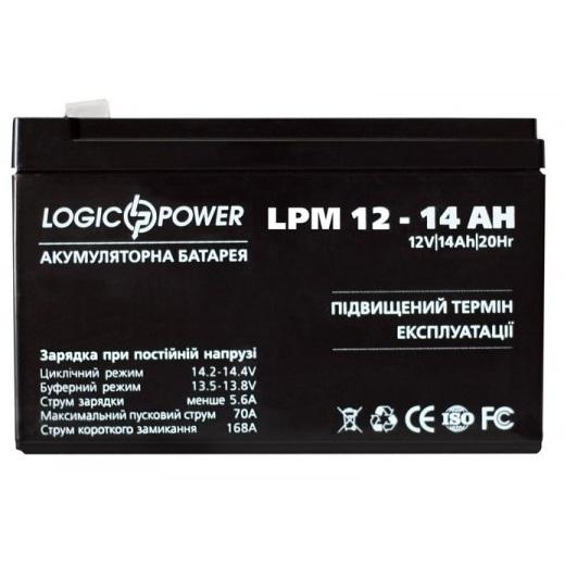 Аккумуляторная батарея Logic Power LPM 12-14 AH