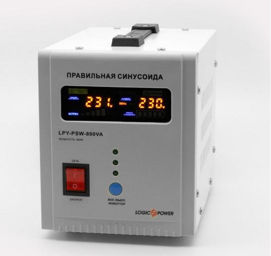 ИБП Logicpower LPY-PSW-800VA+