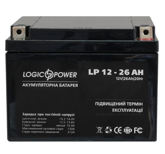 Аккумуляторная батарея Logic Power LP 12-26 AH